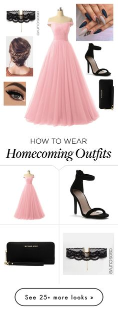 """""""One last dance"""" by alicia-brockett on Polyvore featuring ASOS Curve and MICHAEL Michael Kors"""