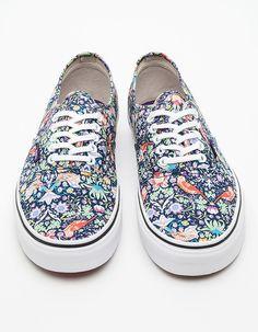 Vans X Liberty Birds Authentic Sneakers