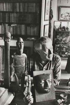 André Breton, 1961, by Henri Cartier-Bresson