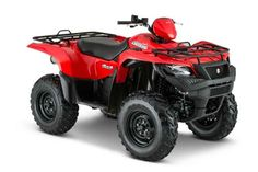 New 2016 Suzuki KingQuad 500AXi ATVs For Sale in Oklahoma. 2016 Suzuki KingQuad 500AXi, TRUSTED. RUGGED. RELIABLE 2016 KingQuad 500AXi The rugged and reliable KingQuad 500AXi receives a few new changes that provides smoother acceleration, quicker throttle response, and a stronger feel in the mid-high RPM range. The front end of the quad gets a newer aggressive stance while side panel change allows you to easily check your oil level without removing any body parts. Over three decades, Suzuki…