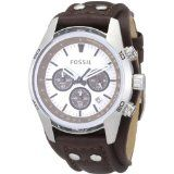 Fossil CH2565 Cuff Leather Watch, Tan (Watch)By Fossil