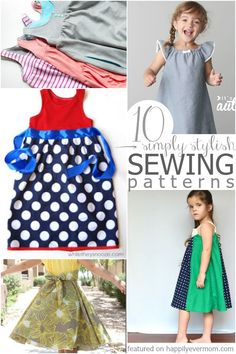 Love these simple patterns that look like it takes a lot of skill to make (but doesn't!). I particularly love that they mention dress a girl around the world bec...