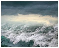 Ocean waves art print, sea photography, teal water landscape art, large wall art, oversized photo poster, nautical decor, 24x30, 16x20 print by RivuletPhotography on Etsy https://www.etsy.com/listing/262701376/ocean-waves-art-print-sea-photography