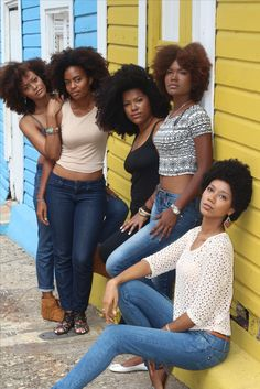 All these natural hair beauties are life affirming for me.