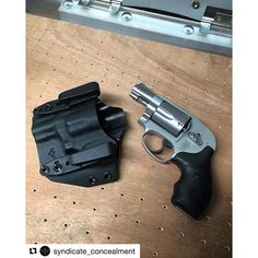#Repost @syndicate_concealment with @repostapp ・・・ ~Not bad for doing our first ever Revolver! This is for AIWB/IWB/OWB.  Giving the customer options on how they want to carry!~ * * #syndicateconcealment #jointhesyndicate #glock #smithandwesson #revolver