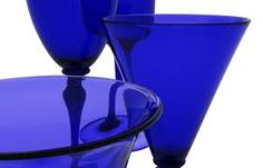 Bristol blue glass is gorgeous!!