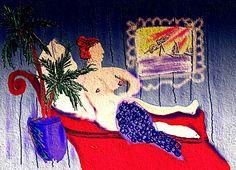 Nude imppressistic painting