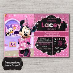Minnie Mouse invite,Minnie invitation,Minnie Mouse,Minnie invitation,Printed invites,Minnie invite,MLM58