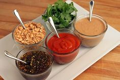 Home Made Asian dipping sauces