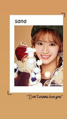 Minatozaki Sana || Sana Twice || Heart Shaker Lockscreen || Twice Wallpaper || Merry and Happy || Kpop Lockscreen