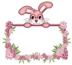 Art Activities For Toddlers, Crafts For Kids, Boarders And Frames, Boarder Designs, Easter Wallpaper, Easter Backgrounds, Happy Birthday Photos, School Frame, Cute Easter Bunny