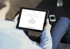Diseño web personal Berta Mallenco. Creación de una página web personal  Diseño web simple que incluye difrentes elemntos en JavaScript para la realización de los efectos de contador y parallax insertados en la web.