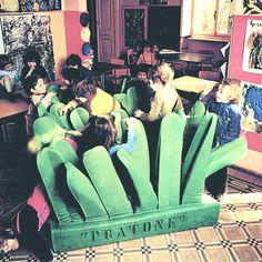 Pratone lounge chair by Ceretti/Derossi/Rosso 1971 - Gufram