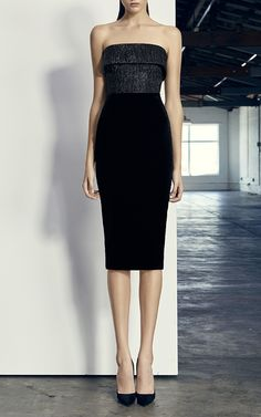 Knox Strapless Cuff Lady Dress by ALEX PERRY for Preorder on Moda Operandi