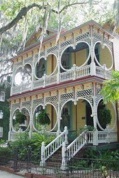 Savannah, GA. the Gingerbread House