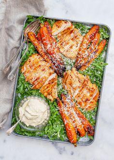Cobb Salad, Hummus, Paleo, Turkey, Yummy Food, Lunch, Chicken, Baking, Dinner