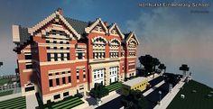 Ironhurst Elementary School | Minecraft Building Inc