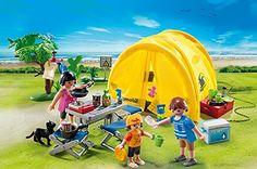 Amazon.de:PLAYMOBIL 5435 - Familien-Camping