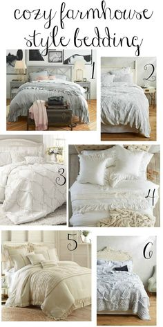 Marvelous These cozy farmhouse style bedding options are perfect choices for creating a welcoming and peaceful master bedroom retreat. The post These cozy farmhouse style bedding options are pe . Bedroom Retreat, Bedroom Bed, Girls Bedroom, Home Decor Bedroom, Modern Bedroom, Bedroom Ideas, Bedroom Designs, Bed Room, Decor Room