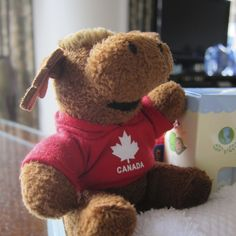 Adorable Canadian friendly welcome gift given to kids upon check-in @FourSeasonsVancouver . For more on why this hotel is a great choice for families: http://bit.ly/19l9pck