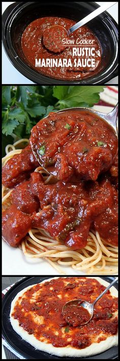 This easy, flavorful sauce is perfect for topping both pasta and pizza. It has healthy, vegetarian ingredients and is suitable for freezing or canning. From TheYummyLife.com
