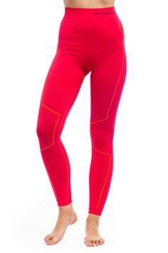 LEGINSY THERMO LE11870 - Bielizna termoaktywna damska - Odzież damska - Odzież - Skalnik  różowe leginsy termoaktywne damskie