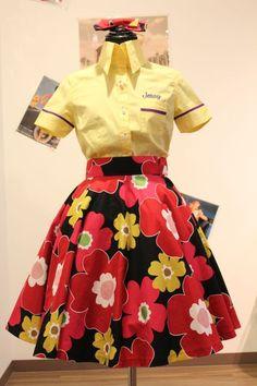 SpiceUp★Groovy(スパイスアップ★グルーヴィー) ~アメリカンファッション・ピンナップガールをベースにしたオリジナル&セレクトショップ通販 (Page 2) 60 Fashion, Cute Fashion, Asian Fashion, Vintage Fashion, 50s Outfits, Dressy Outfits, Aged To Perfection, Pink Houses, 50s Dresses