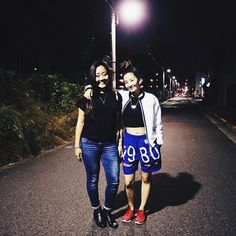 Nakameguro with @sayoriwada. Photo by @jatecson. #bunvibesjapan