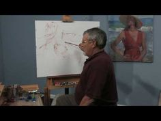 Free Art Lesson - Don Hatfield - Underpainting