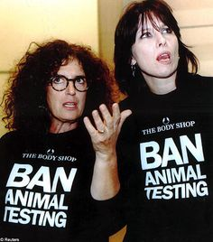 Anita Roddick & Chrissie Hynde   ...........click here to find out more     http://googydog.com