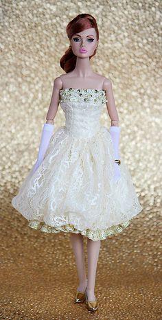 """Elegant Evening"" Poppy Parker Barbie Wedding Dress, Barbie Dress, Barbie Clothes, Fashion Royalty Dolls, Fashion Dolls, Girl Fashion, Poppy Doll, Barbie Wardrobe, Poppy Parker"