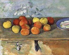 Paul Cézanne - Nature morte avec pommes et biscuits