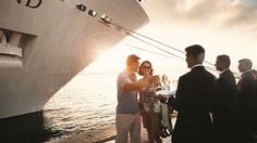 The stellar service and intimate ambiance of luxury lines, like Silversea Cruise's champagne greeting, will heighten the romantic vibe for any cruisers.  Shop Online 24/7 Use code PINME20 at checkout to receive 20% off your entire order! LoveBug.YourPassionConsultant.com  (705)441-5458