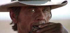 'Harmonica' - Charles Bronson in 'Once Upon A Time In The West' Charles Bronson, Yul Brynner, Sundance Kid, Kevin Costner, Robert Redford, Chris Pratt, Steve Mcqueen, Clint Eastwood, Bravura Indômita