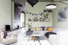 Het witte huis in Kampen heeft kleur gekregen.
