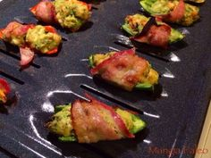 Bacon Wrapped Shrimp and Avocado Jalapeño Poppers - Paleo snacks