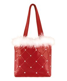 Take Christmas cheer on the go with this jolly tote. Made from a durable cotton blend in cheerful colors, this tote is ready for years of Yuletide traveling. Christmas Bags, Merry And Bright, Sequins, Reusable Tote Bags, Invitations, Purses, Cotton, Cheer, Traveling