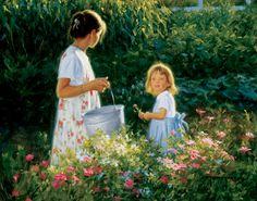 """""""Little Miss Sunshine"""", by American artist - Robert Duncan (1952 - )"""