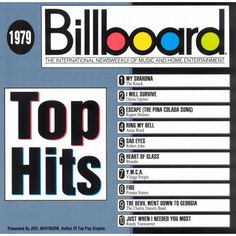 Various Artists - Billboard Top Hits: 1979 (CD)
