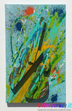 Violino distrutto Arman Fernandez 50 x 80 cm. - Acquista su www.colorscrazy.it