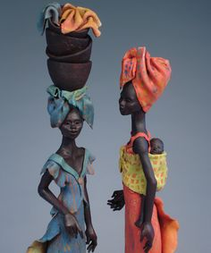 Annie Peaker contemporary figurative ceramics