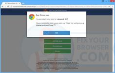 "Remove ""2017 Survey"" pop-up ads - Virus Removal Instruction"