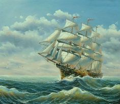 Sailing Ships At Sea | Ferdinand magellan was a conquistador and was sailing for England !