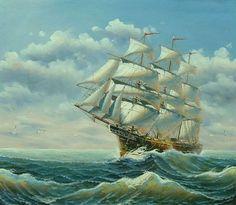 Sailing Ships At Sea | Ferdinand magellan was a conquistador and was sailing for England !