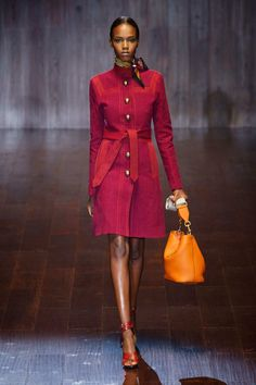 Gucci, Spring 2015, Milan, but wouldn't these colors be great in Fall? #fallintofashion14  #mccallpatterncompany