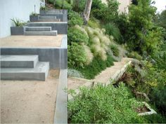 elysian landscapes southern california hillside garden los angeles sloped
