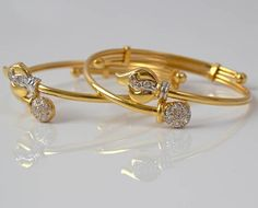 Baby Bracelets studded with Diamonds