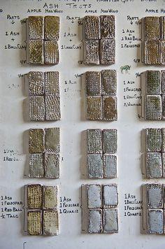 Bernard Leach Pottery Studio St.Ives Glaze Recipes | Flickr - Fotosharing!