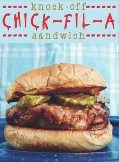 National Fried Chicken Day Recipes! Copycat chick fil a southern fried chicken sandwich recipe by grilled cheese social
