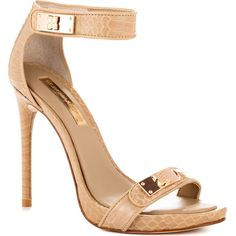 BCBGMaxazria Entreat - Nat Plain Snake ($250) ❤ liked on Polyvore